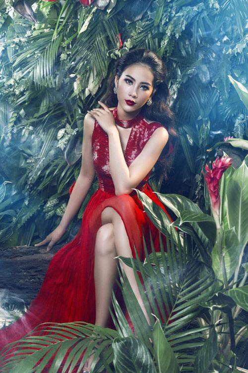 Hoa khôi Nam Em đại diện Việt Nam thi Hoa hậu Trái đất - 3