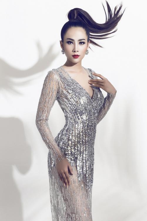 Hoa khôi Nam Em đại diện Việt Nam thi Hoa hậu Trái đất - 4