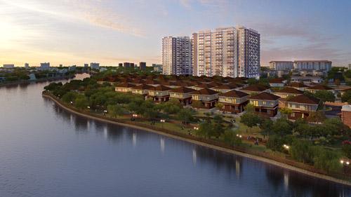 Trả 6-7 triệu/tháng sở hữu căn hộ biệt lập 3 mặt view sông - 1