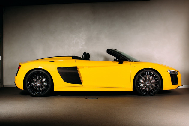 Công bố giá Audi R8 Spyder 2017 - 3