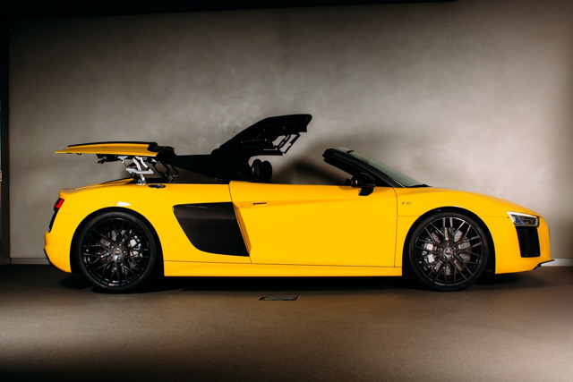 Công bố giá Audi R8 Spyder 2017 - 4