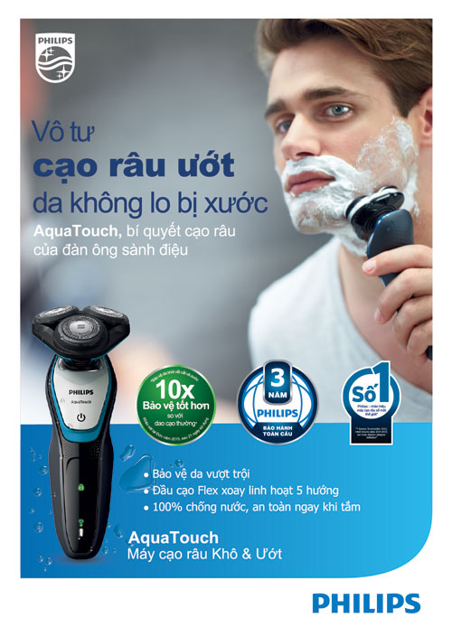 """Cạo râu cũng cần """"chuẩn quý ông"""" - 1"""