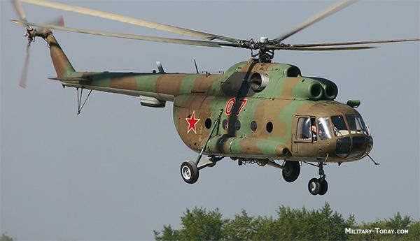 Trực thăng Mi-8 Nga bị bắn hạ ở Syria, 5 người tử nạn - 1