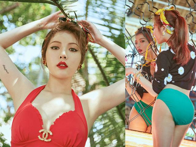 """""""Nữ hoàng sexy"""" HyunA tung MV chất lừ - 1"""