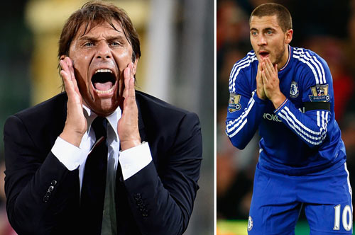 """Khi Hazard được """"tôi luyện"""" thành Ronaldo của Chelsea - 1"""