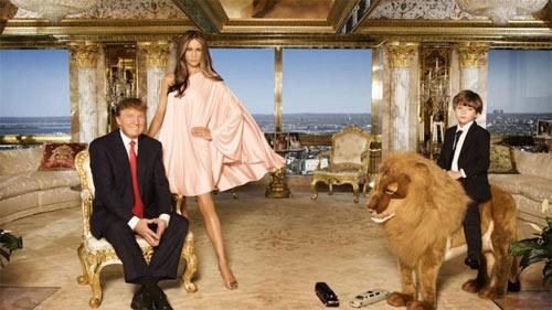 """Vợ tỉ phú Donald Trump gây """"sốt"""" nhờ mặc đẹp - 1"""