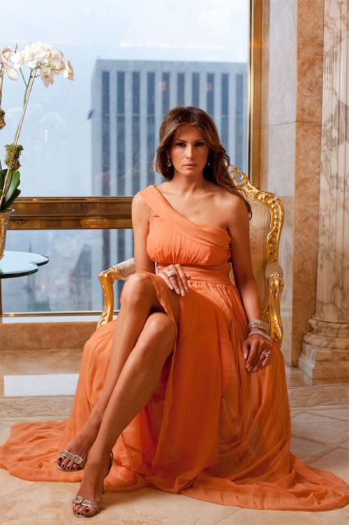 """Vợ tỉ phú Donald Trump gây """"sốt"""" nhờ mặc đẹp - 13"""