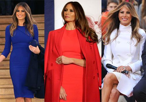 """Vợ tỉ phú Donald Trump gây """"sốt"""" nhờ mặc đẹp - 16"""