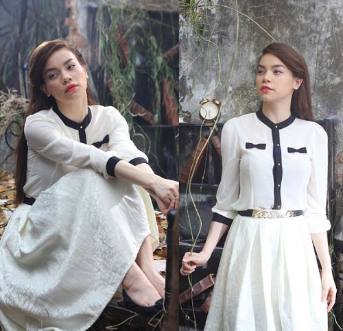 Hồ Ngọc Hà mải miết mặc đẹp với 1001 kiểu chân váy - 3