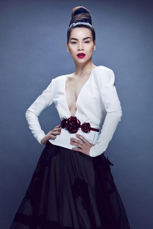 Hồ Ngọc Hà mải miết mặc đẹp với 1001 kiểu chân váy - 7