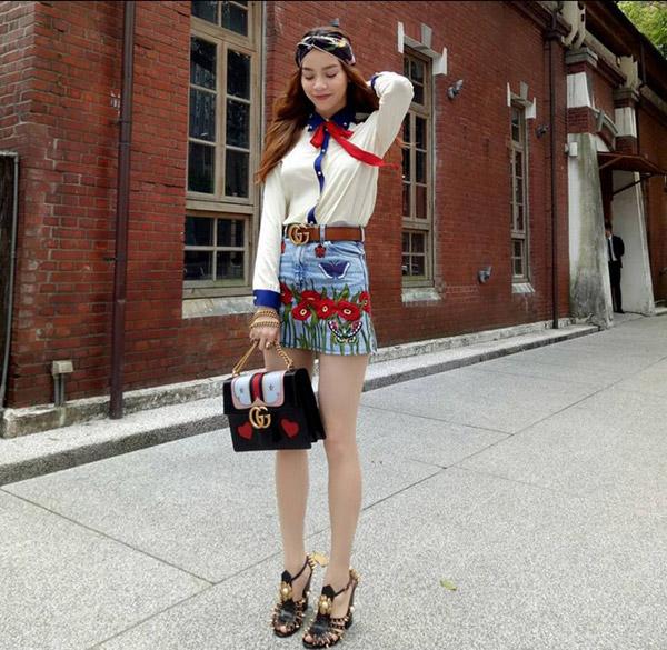 Hồ Ngọc Hà mải miết mặc đẹp với 1001 kiểu chân váy - 8
