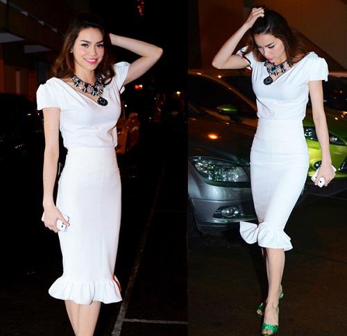 Hồ Ngọc Hà mải miết mặc đẹp với 1001 kiểu chân váy - 11