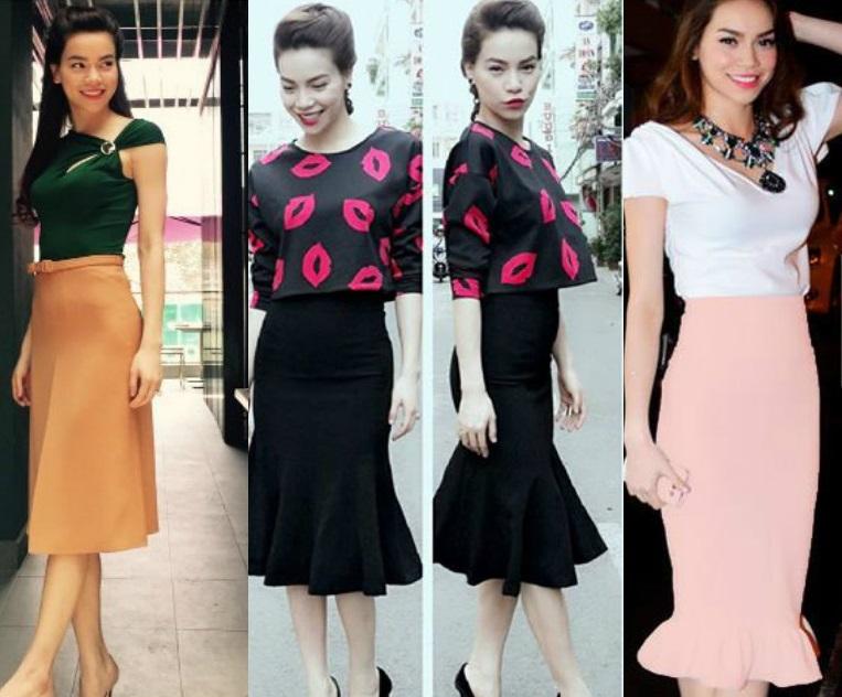 Hồ Ngọc Hà mải miết mặc đẹp với 1001 kiểu chân váy - 13