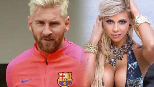 """Messi bị người mẫu Argentina xinh đẹp chê """"yếu"""" - 1"""