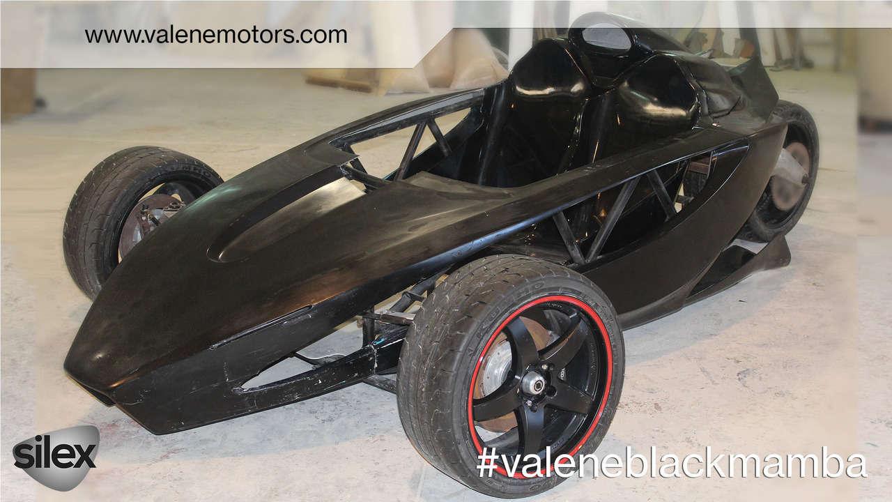 Độc đáo xe điện hiệu suất cao Valene Black Mamba - 1