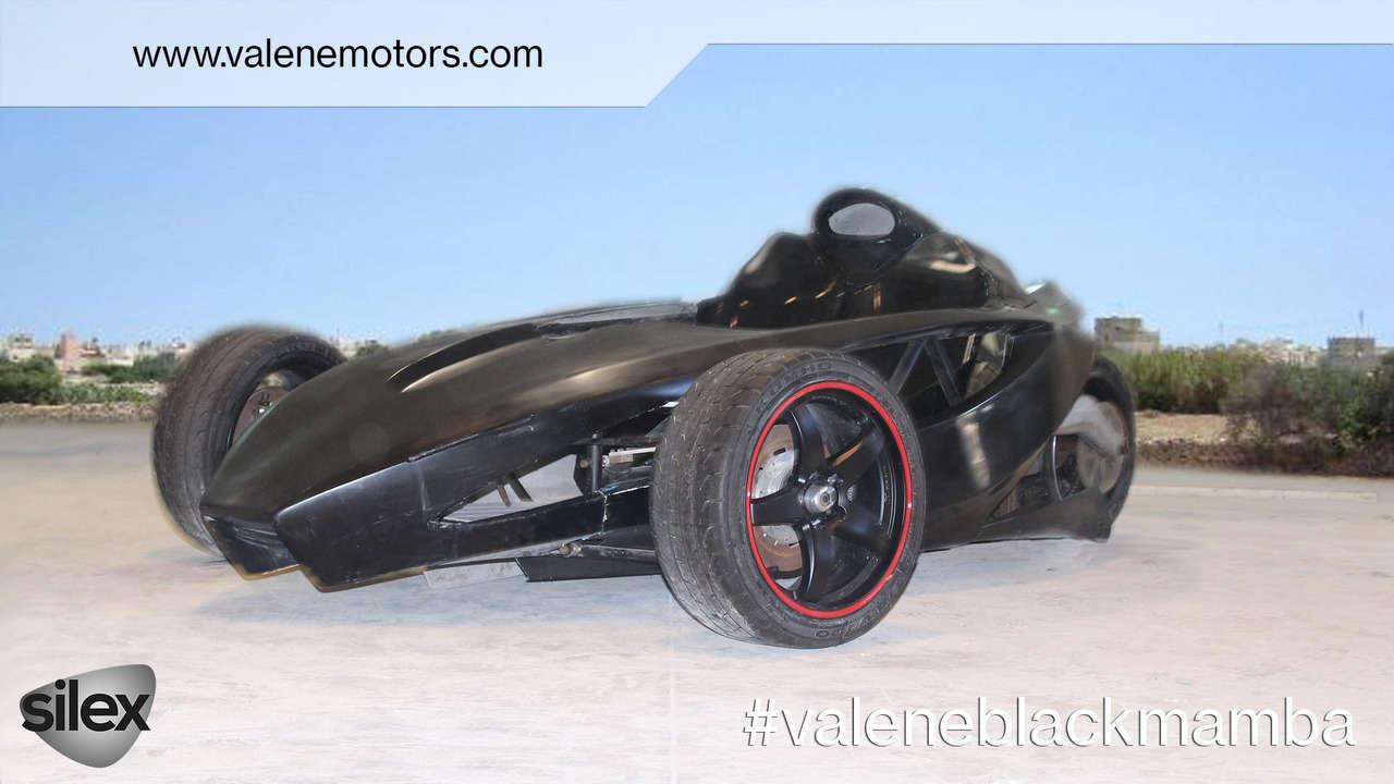 Độc đáo xe điện hiệu suất cao Valene Black Mamba - 2