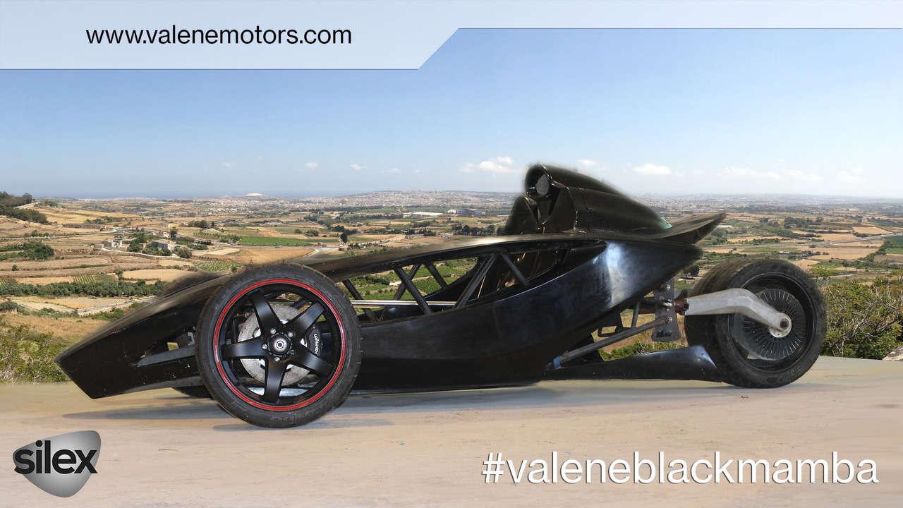 Độc đáo xe điện hiệu suất cao Valene Black Mamba - 4