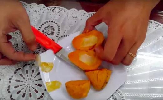 Thực hư xoài mút Trung Quốc làm bằng nilon - 1