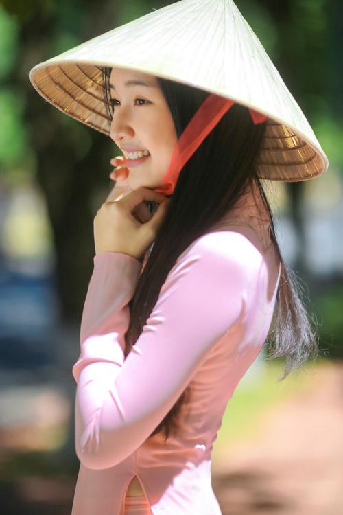"""""""Nàng thơ xứ Huế"""" tại HHVN 2016 mê hoặc với áo dài - 4"""