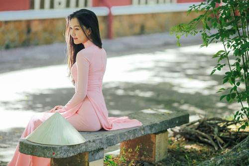 """""""Nàng thơ xứ Huế"""" tại HHVN 2016 mê hoặc với áo dài - 7"""