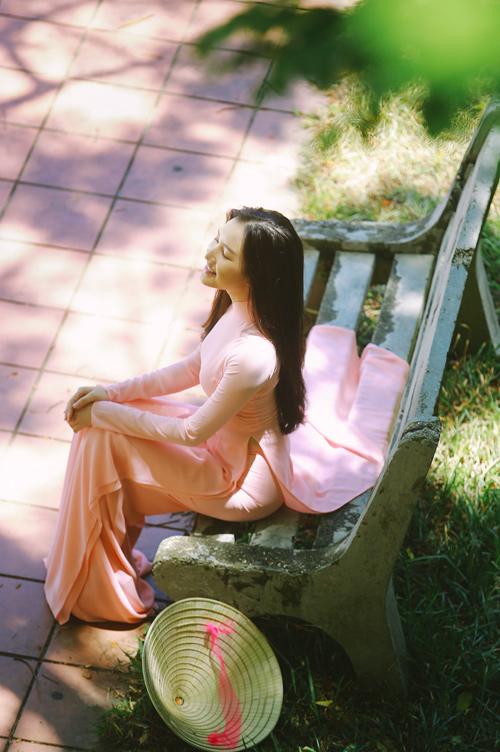 """""""Nàng thơ xứ Huế"""" tại HHVN 2016 mê hoặc với áo dài - 11"""