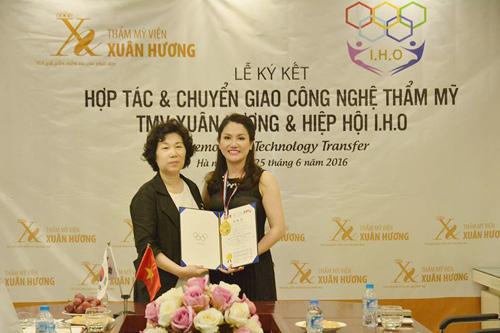 TMV Xuân Hương vinh dự nhận bằng khen từ Hiệp hội Thẩm mỹ IHO Hàn Quốc - 3
