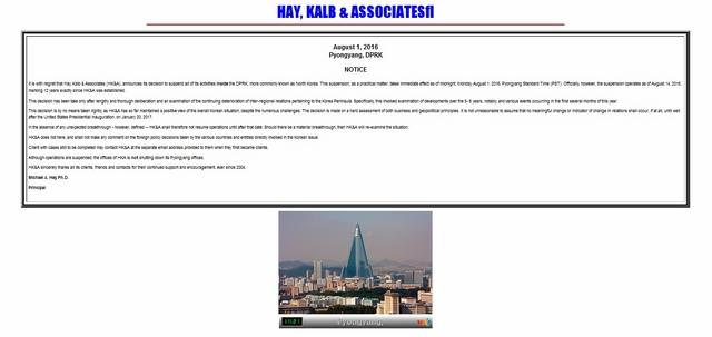 Công ty luật quốc tế duy nhất ở Triều Tiên dừng hoạt động - 1