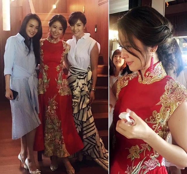 Choáng với váy và trang sức cưới đắt đỏ của Lâm Tâm Như - 6