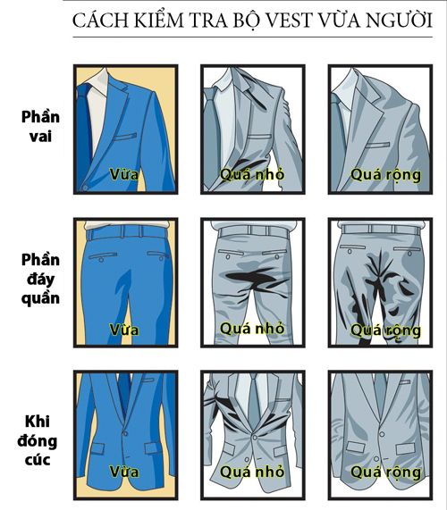 Mách quý ông bí kíp chọn bộ vest vừa dáng - 1