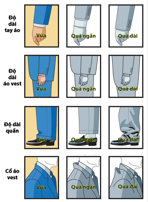 Mách quý ông bí kíp chọn bộ vest vừa dáng - 2