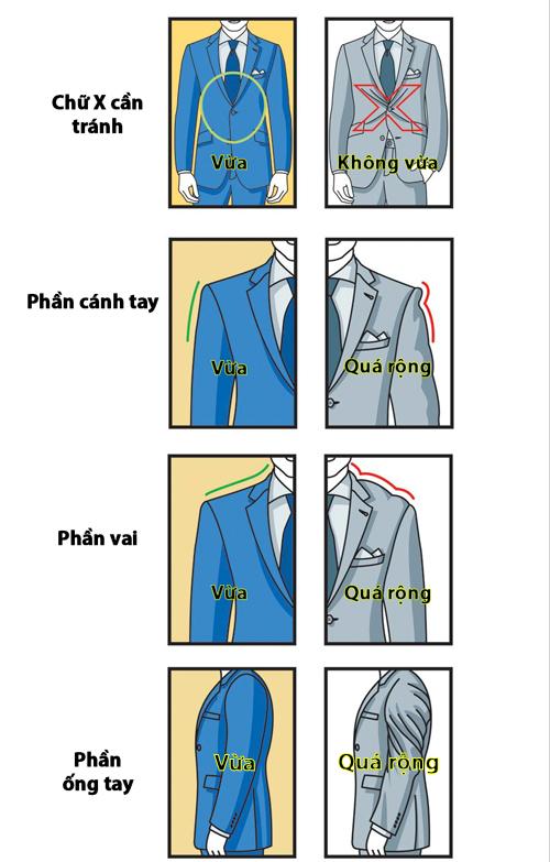 Mách quý ông bí kíp chọn bộ vest vừa dáng - 3