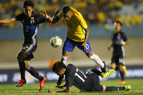 Brazil khát HCV bóng đá Olympic - 1