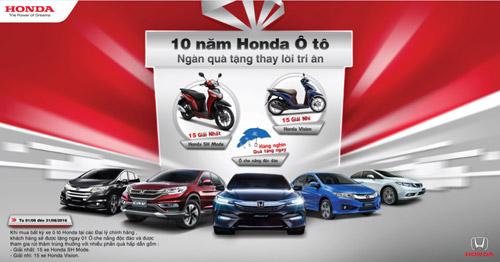 Honda kỷ niệm 10 năm ra mắt chiếc xe ôtô đầu tiên - 1