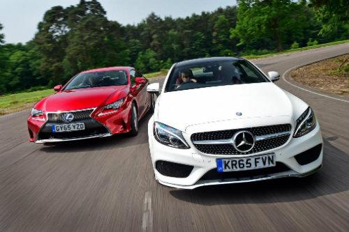 Nên chọn mua Mercedes C-Class Coupe hay Lexus RC? - 1