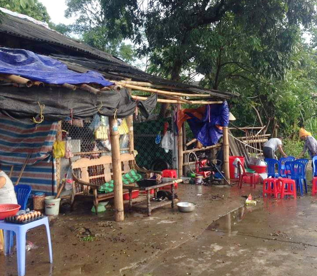 Dông lốc khủng khiếp ở Yên Bái, nhiều nhà bị thổi tung - 3