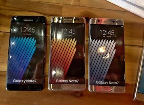 Samsung Galaxy Note 7: Bán ra từ ngày 19/8 - 25
