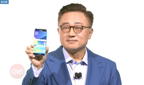 Samsung Galaxy Note 7: Bán ra từ ngày 19/8 - 11