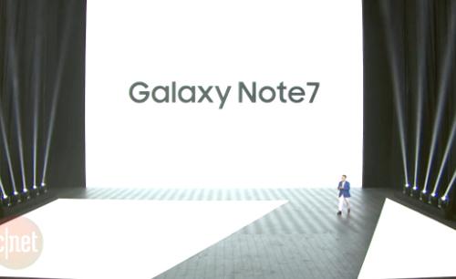 Samsung Galaxy Note 7: Bán ra từ ngày 19/8 - 12