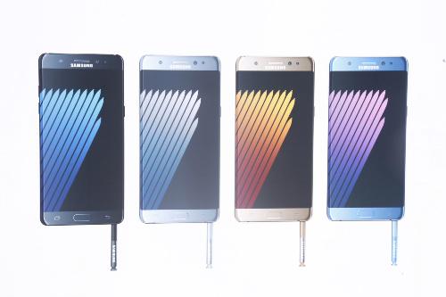 Samsung Galaxy Note 7: Bán ra từ ngày 19/8 - 8