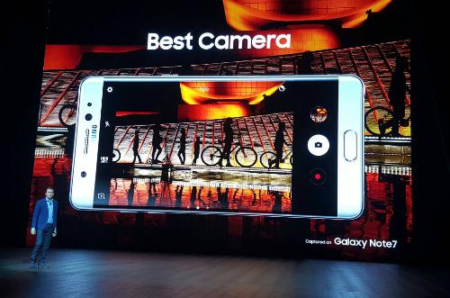 """""""Bom tấn"""" Samsung Galaxy Note 7 trình làng, tính năng hấp dẫn - 5"""