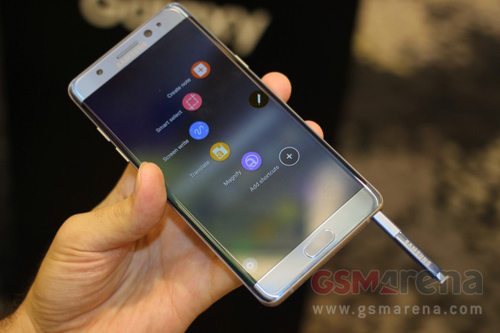 Video trên tay Samsung Galaxy Note 7 vừa ra mắt - 1