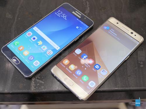 So sánh Samsung Galaxy Note 7 và Galaxy Note 5 - 3