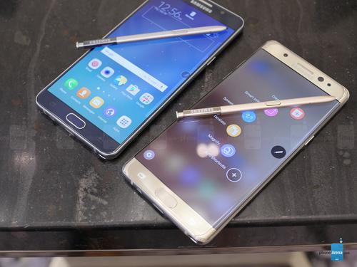 So sánh Samsung Galaxy Note 7 và Galaxy Note 5 - 2