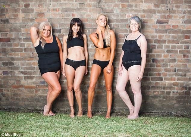 Hãng nội y gây sốc với loạt người mẫu già, béo, thấp - 1