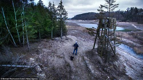 """Bộ ảnh """"gây bão"""" về thiên nhiên Đan Mạch từ trên cao - 10"""
