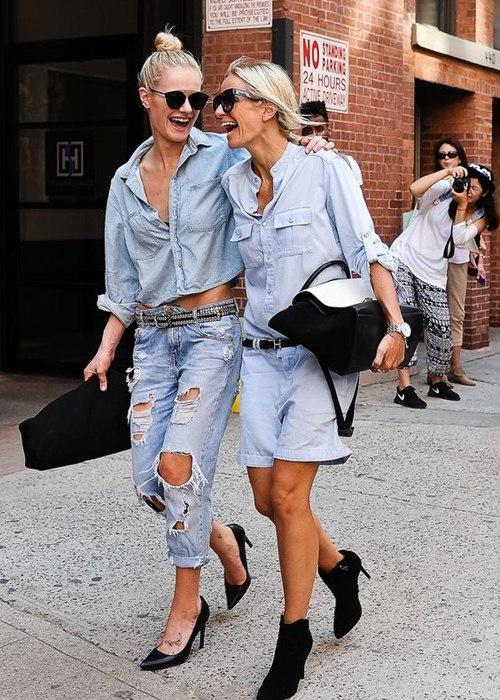 6 kiểu mặc đẹp mọi lúc mọi nơi với quần jeans - 1