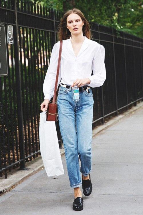 6 kiểu mặc đẹp mọi lúc mọi nơi với quần jeans - 2