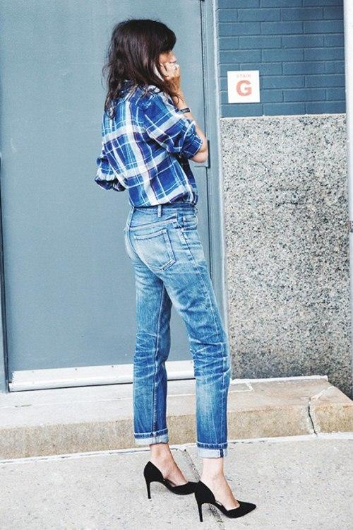 6 kiểu mặc đẹp mọi lúc mọi nơi với quần jeans - 3