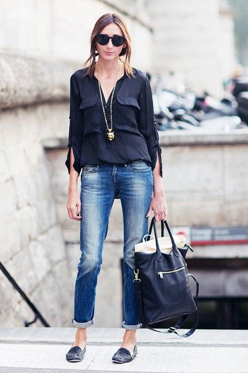 6 kiểu mặc đẹp mọi lúc mọi nơi với quần jeans - 9