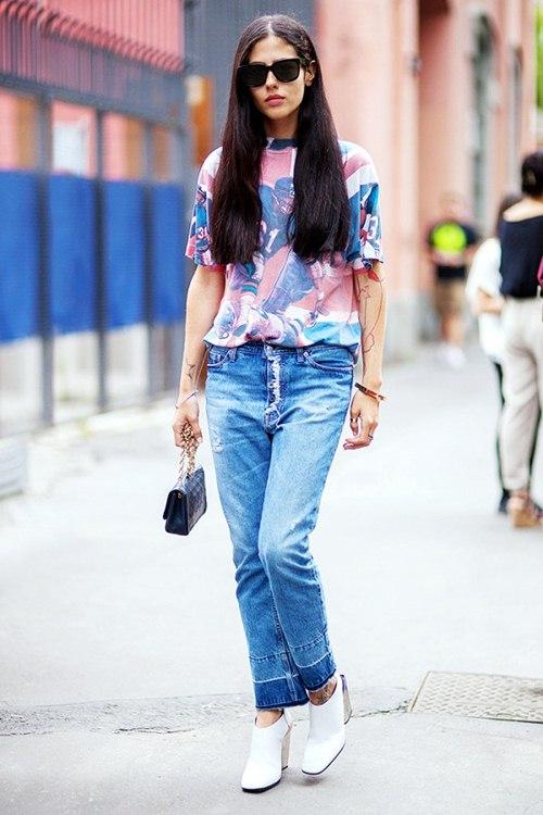 6 kiểu mặc đẹp mọi lúc mọi nơi với quần jeans - 10